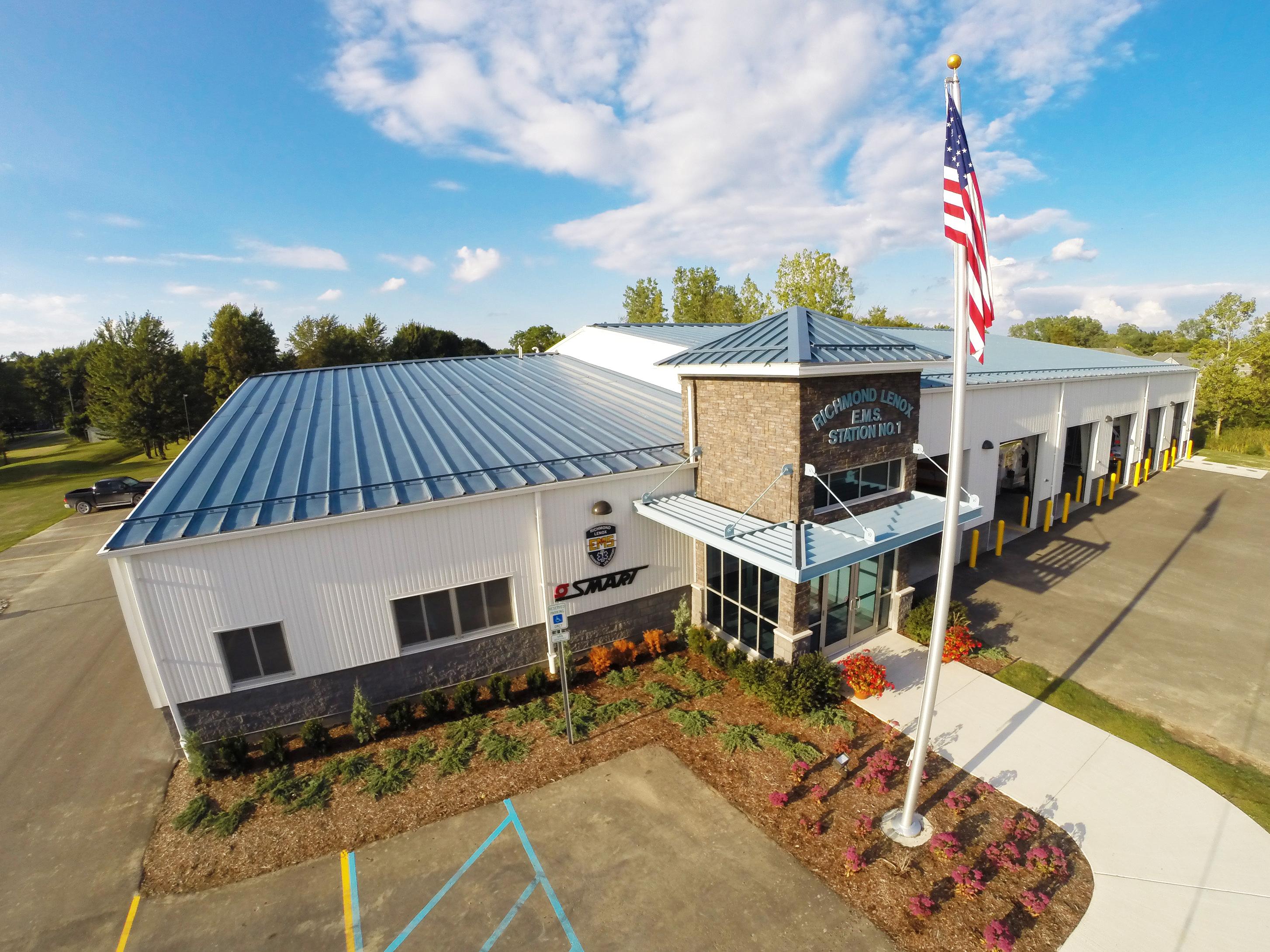 Richmond Lenox EMS/SMART Facility.
