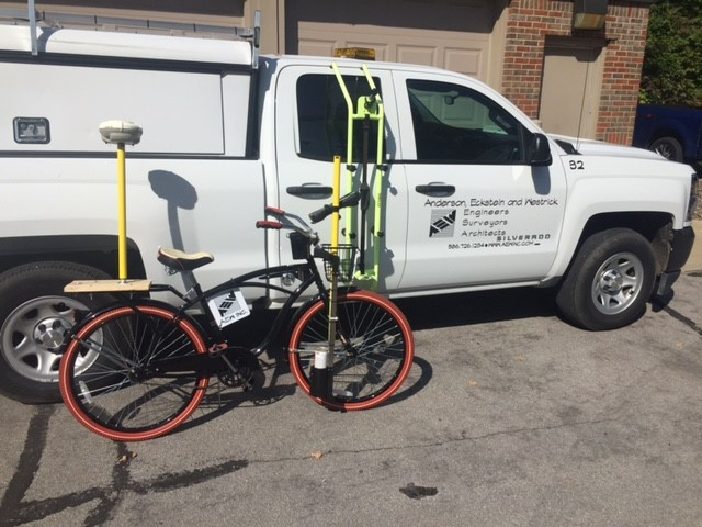 "The bikes are ""green,"" will enable our crews to maneuver more readily, and they'll join our fleet of equipment that includes trucks, Unmanned Aerial Vehicles (drones), and an ATV to better serve our clients with the on- and off-road equipment and technology necessary to get the job done efficiently and accurately."