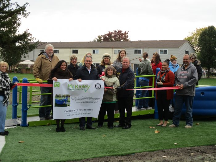 "A second Ribbon Cutting was held for the ""Sway-Fun,"" a fully interactive moving ride that accommodates access by those in wheelchairs as well as other special challenges."