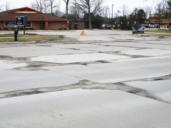 Potholes are damaging motorist's tires, wheels and suspensions, with no relief in sight.