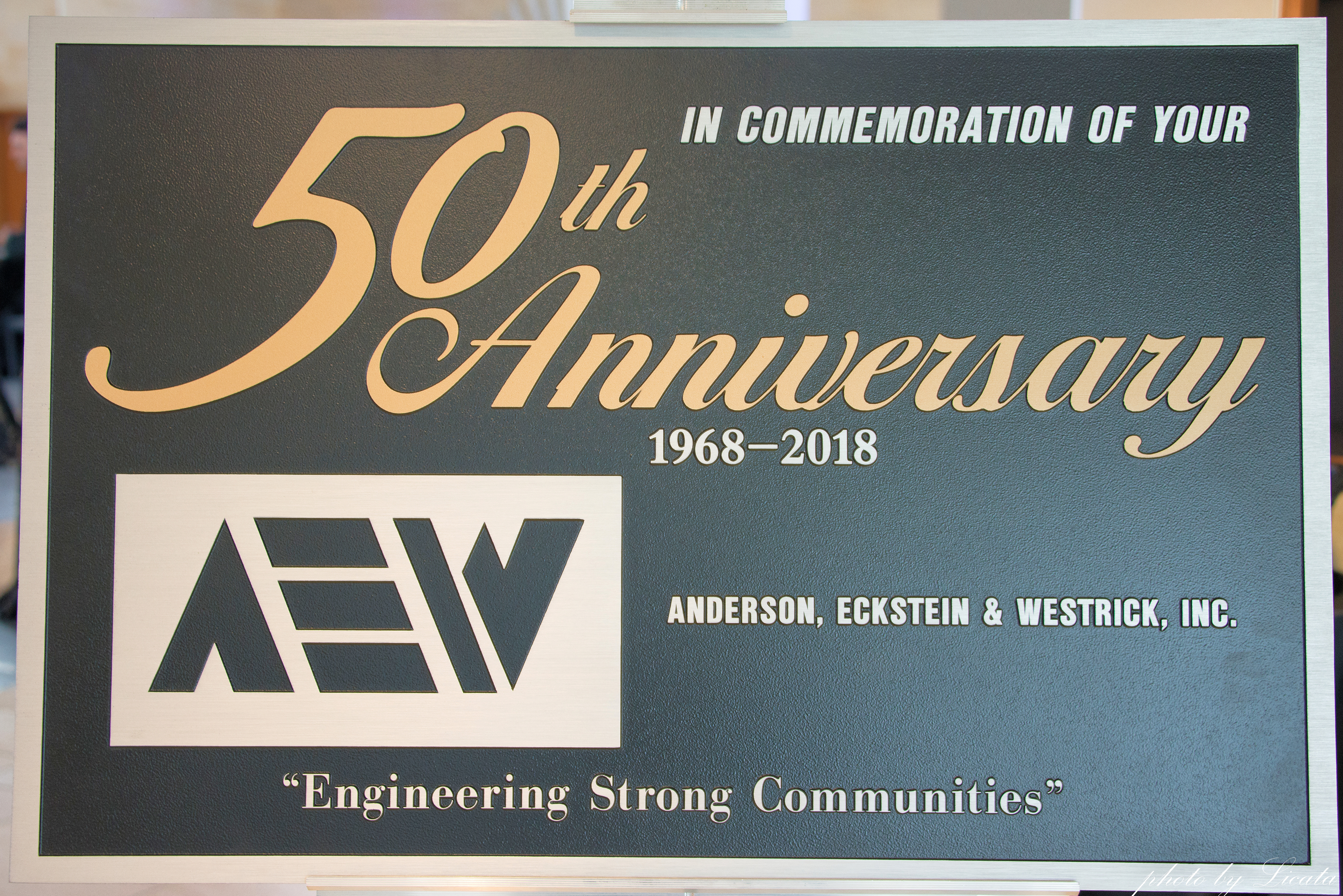 50th Anniversary Sign