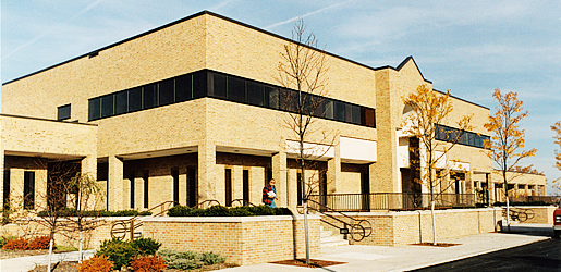 Side View of the Clinton Township Civic Center