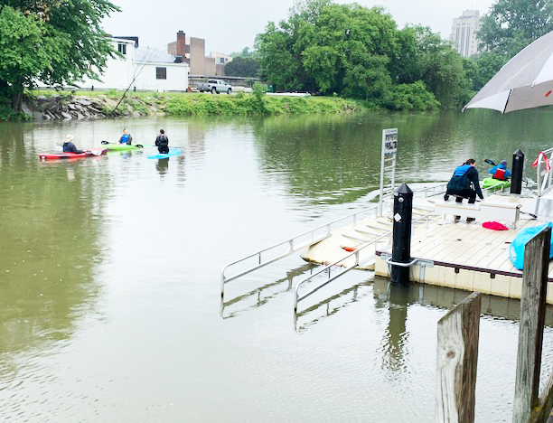 MacArthur Park Universally Accessible Kayak Launch Opens in