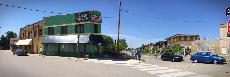 Utica Junction Streetscape