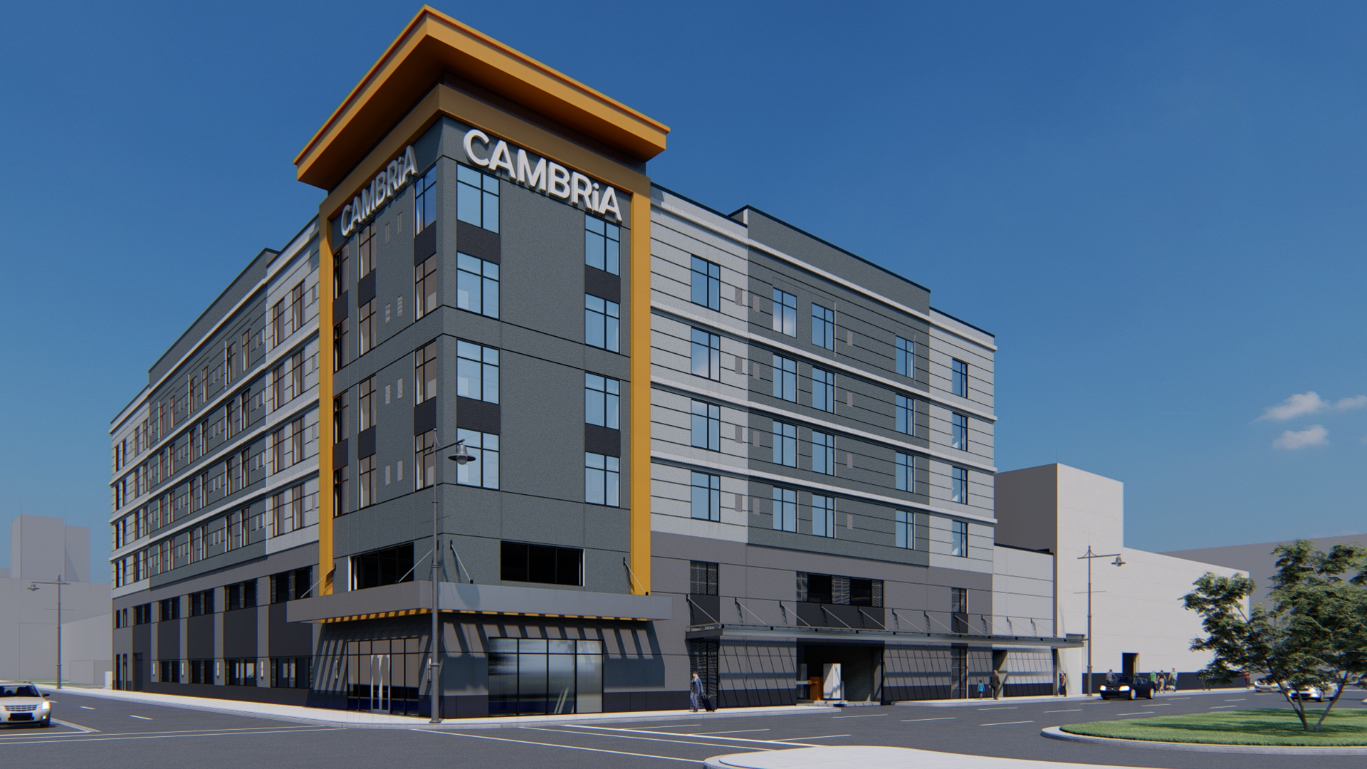 New Cambria Hotel Project in Detroit