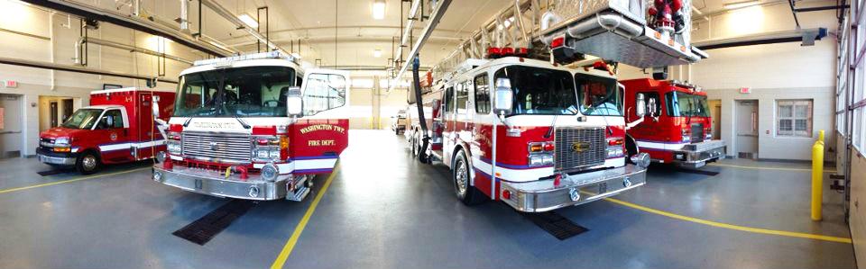 Washington township fire trucks