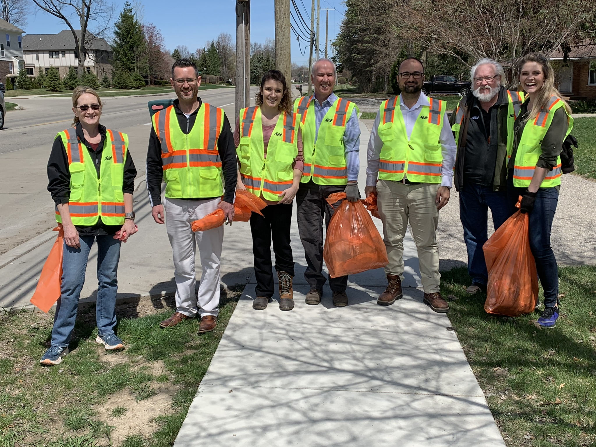 Adopt-A-Road Cleanup Shelby Township