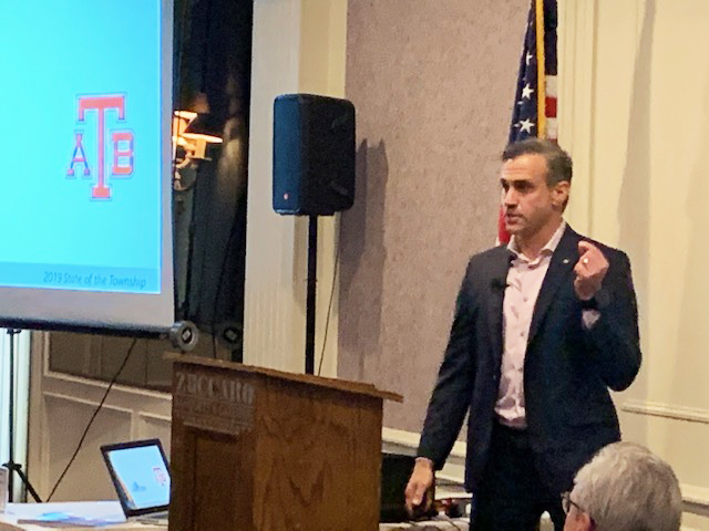 "Chesterfield Township Supervisor Dan Acciavatti gave a Upbeat ""State of the Township"" presentation this morning and ""Infrastructure"" was one of the key components."